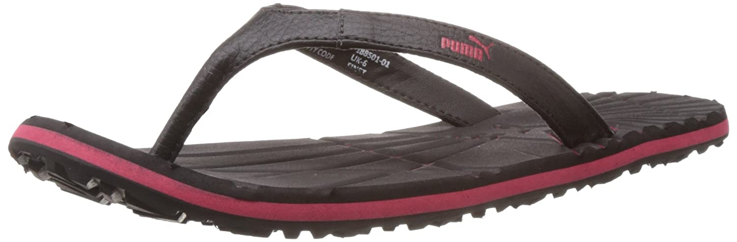 f3b53b39b826 Puma Unisex Webster Dp 2 Black and High Risk Red Hawaii Thong Sandals -  10UK India (44.5EU)  Buy Online at Low Prices in India - Amazon.in