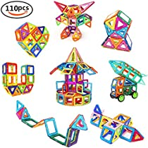 Magnetic Building Blocks, 36 PCS Educational Stacking Blocks 3D Toddler Toys Preschool Boys Grils Building Toy Set for Kid's Educational and Creative Imagination Development