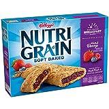 Kellogg's Nutri-Grain Cereal Breakfast Bars, Mixed Berry, 8 Count Box