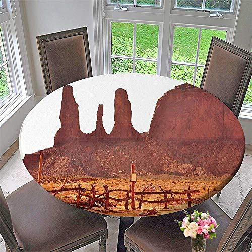 Mikihome The Round Table Cloth Scenic Archaic Monument