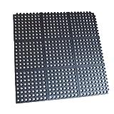 3 ft. x 3 ft. Interlocking Rubber Mats (4-Pack)