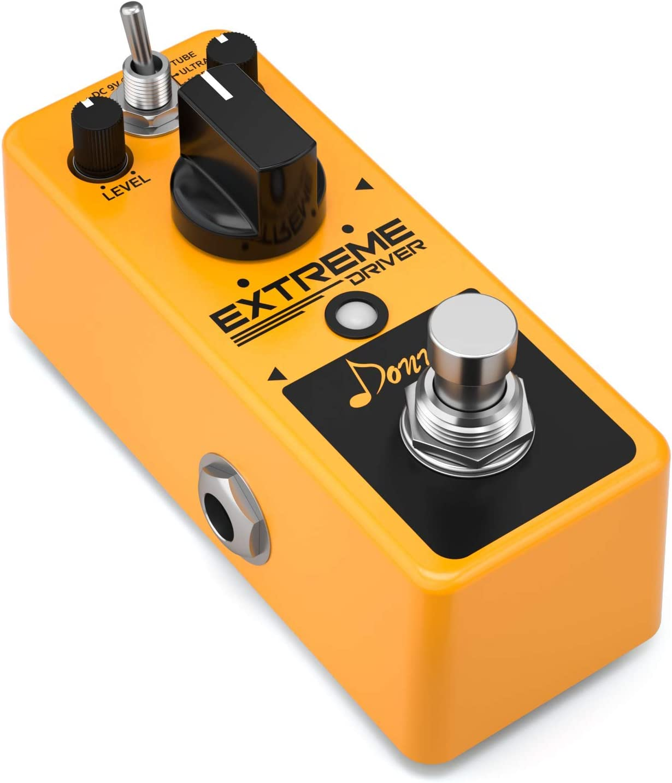 Donner Extreme Driver - Pedal de efectos de guitarra analógico con ...