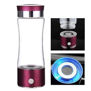 UTNF Hot Pem Tech Hidrógeno Generador De Agua Portable Pure H2 Ionizador Botella para Agua De