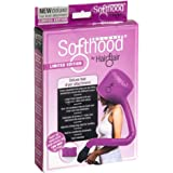 Deluxe Pink Softhood Bonnet Hair Dryer Attachment