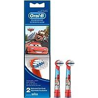 Oral-B Stages Çocuklar Için Diş Fırçası Yedek Başlığı, Cars, 2 Adet