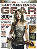img - for The Ultimate Guide to Guitar & Bass Gear (Summer 2013) book / textbook / text book
