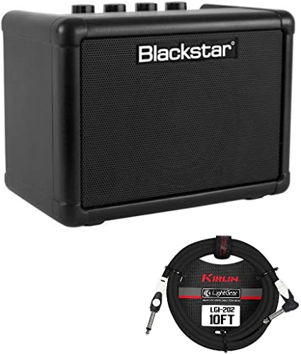 Blackstar FLY 3 Bass Combo Amplifier with Guitar Cable