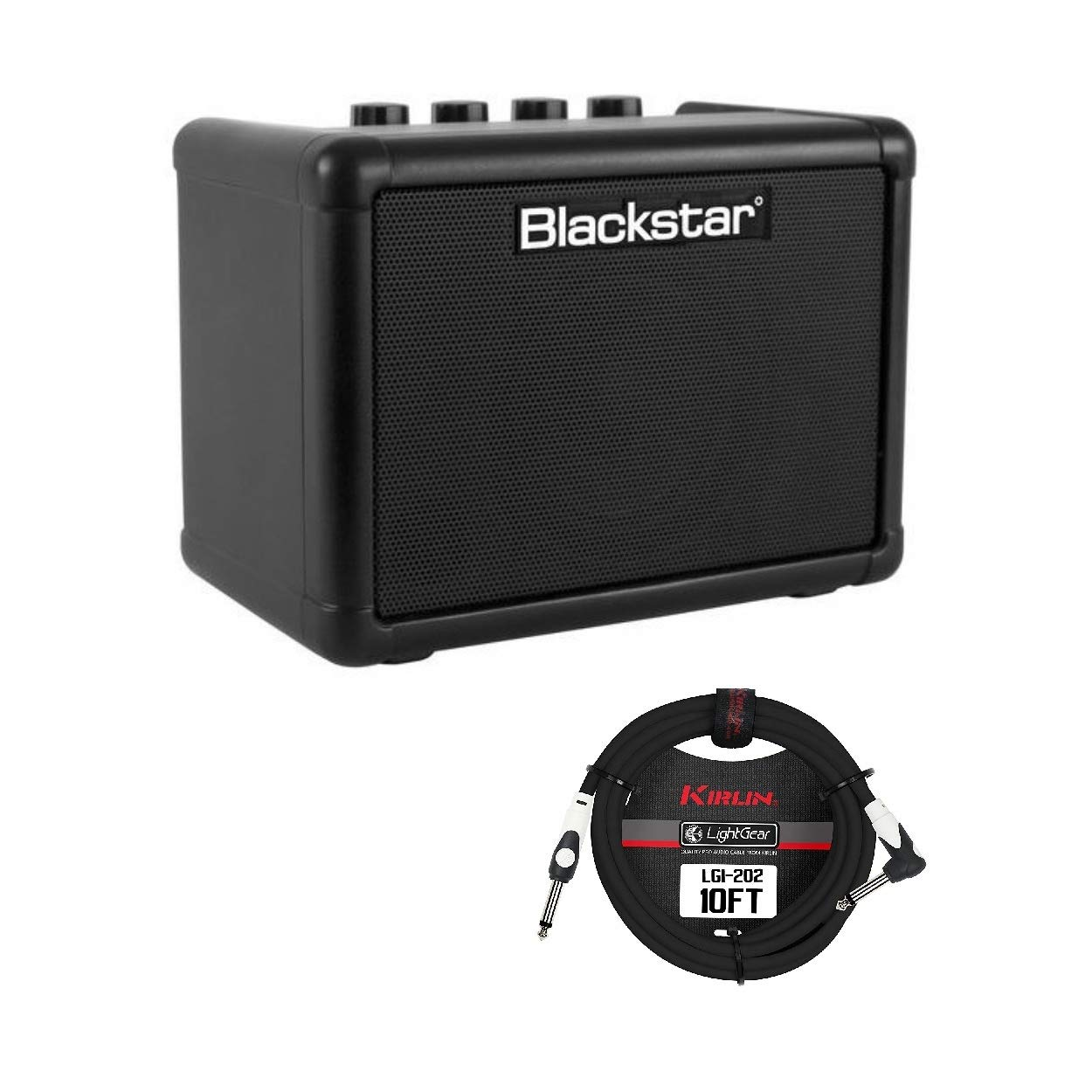 Blackstar FLY3 3 Watt Battery Powered Guitar Amp with Cable by Blackstar
