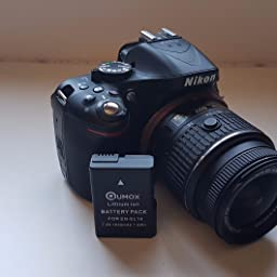 QUMOX Nueva Bateria Decodificada EN-EL14 ENEL14 para Nikon P7000 ...