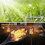 Solar Torch Light with Flickering Flame, Permande