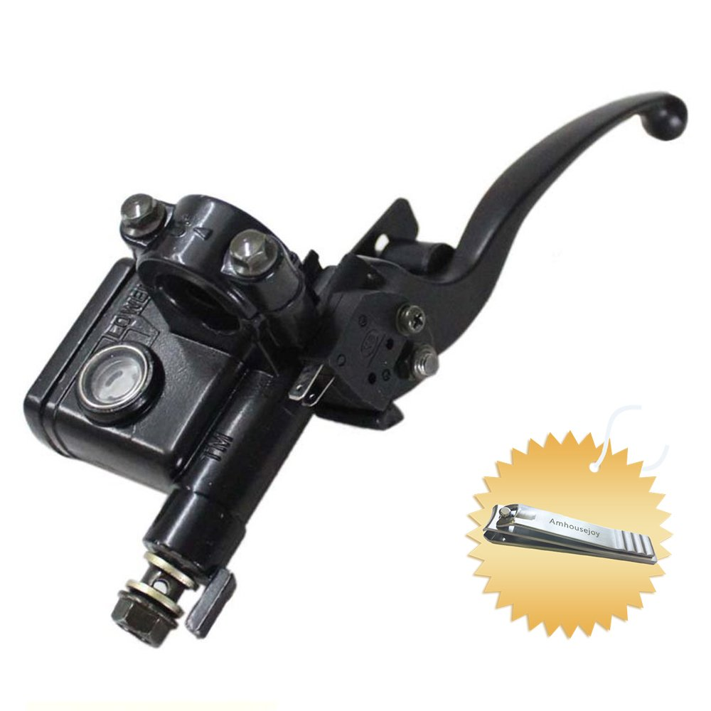 New 50cc-150cc Atv Quad Dirt Pit 7/8' Bike Right Front Hydraulic Brake Master Cylinder with Lever Pump for 50cc 70cc 90cc 110cc 125cc 150cc (Right Side) by Amhousejoy RUIAN HAOCHENG VEHICLE PARTS