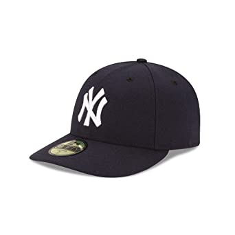 official photos 24d13 1f085 New Era Men Caps Fitted Cap Authentic Performance Low Crown NY Yankees   Amazon.co.uk  Clothing