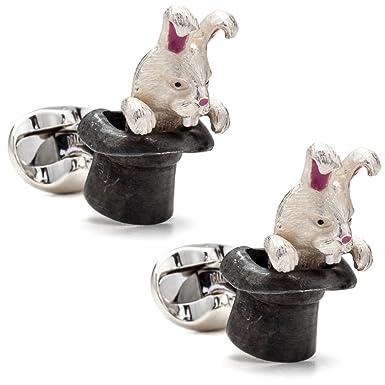 Deakin & Francis Mens Rabbit in Hat Cufflinks A3vcYs1Zk