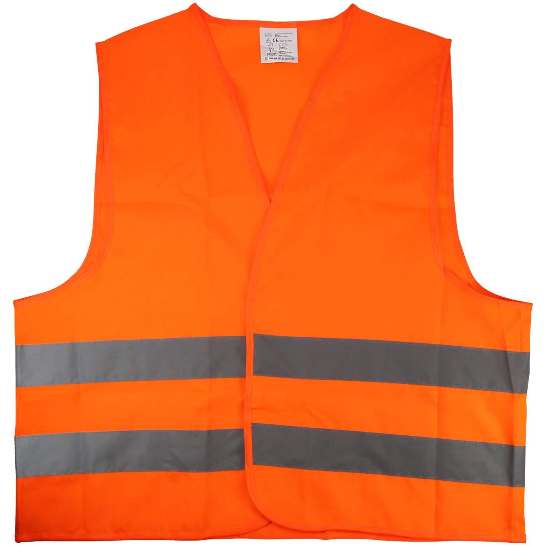 CL2 a norma di DIN EN 20471 Arancione Cartrend 50120 Gilet ad alta visibilit/à taglia L