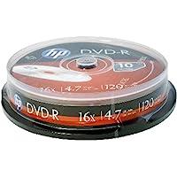 Dvd-R Hp Grávavel Pino C/10 Unidades, Cis, 46.3023, Prata