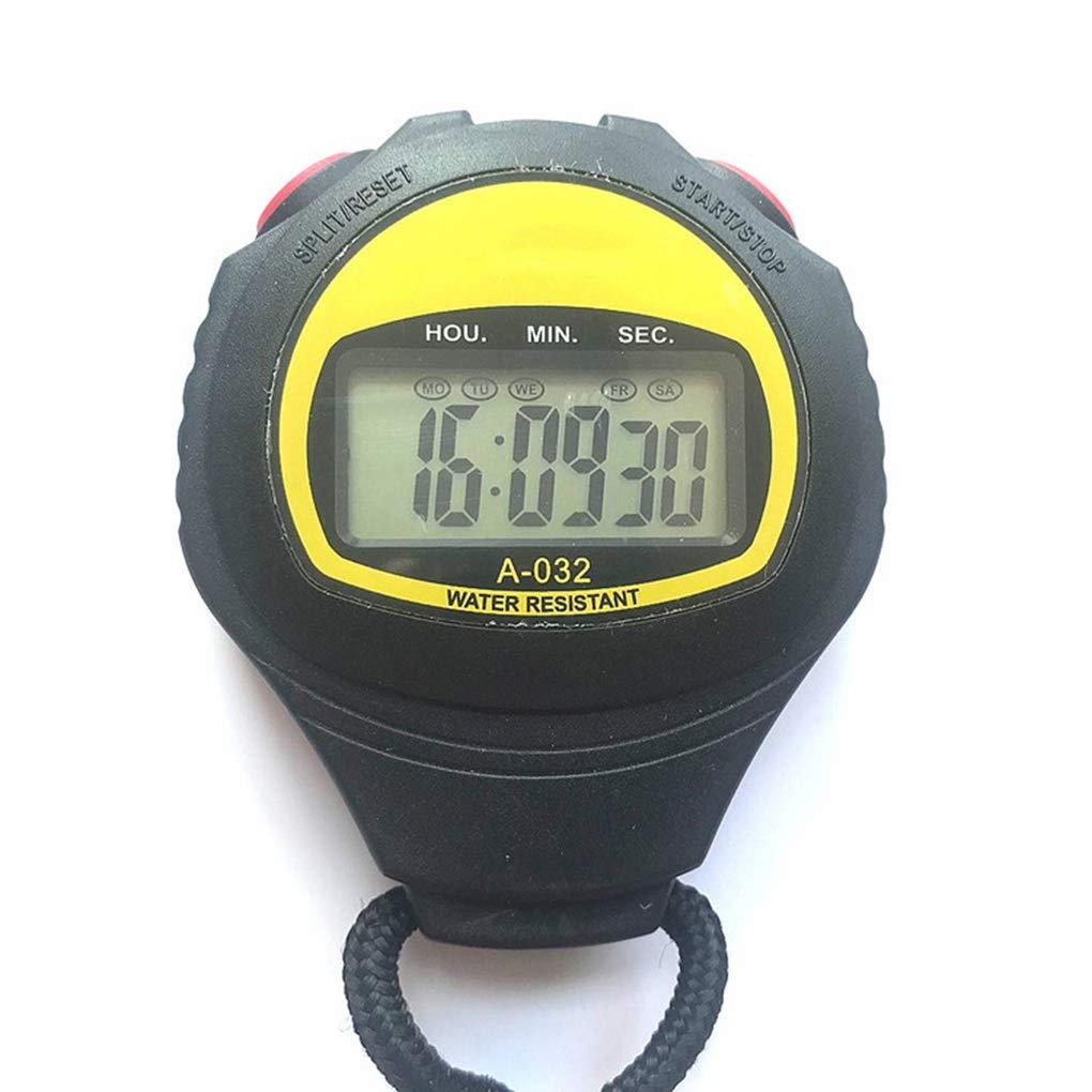 Flushzing Grand /écran /électronique Chronom/ètre Professionnel Courir minuterie Sport Arbitre entra/îneur Chronographe