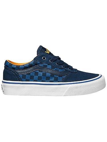 scarpe vans blu e bianche