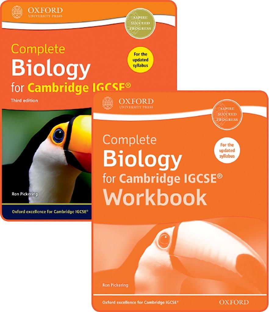 Complete biology for Cambridge IGCSE. Students book-Workbook ...