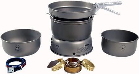 Trangia Set de hornillo 25-1 de Aluminio anodizado Duro 2019 Hornillos de Camping