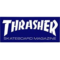 "Thrasher Skate Mag Standard Sticker blue 6"" Sticker"