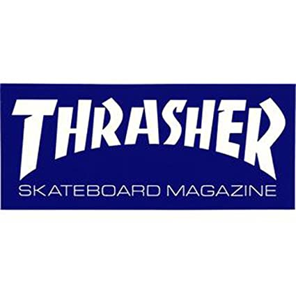 372adde0cb26 Image Unavailable. Image not available for. Color  Thrasher Magazine Logo  Skateboard Sticker ...
