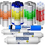 iSpring F28K75 3-Year Filter Replacement Supply Set For 6-Stage Reverse Osmosis Water Filtration Systems