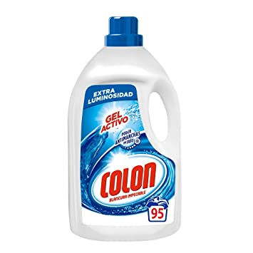 Colon Detergente Ropa Líquido Gel Activo - 95 dosis: Amazon.es ...