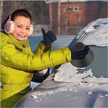 Raschiaghiaccio Auto Raschietti per il ghiaccio Rimozione neve auto Ice Scraper di Ghiaccio 2 in 1 Parabrezza e Finestra Automatici Snow Brush per Auto