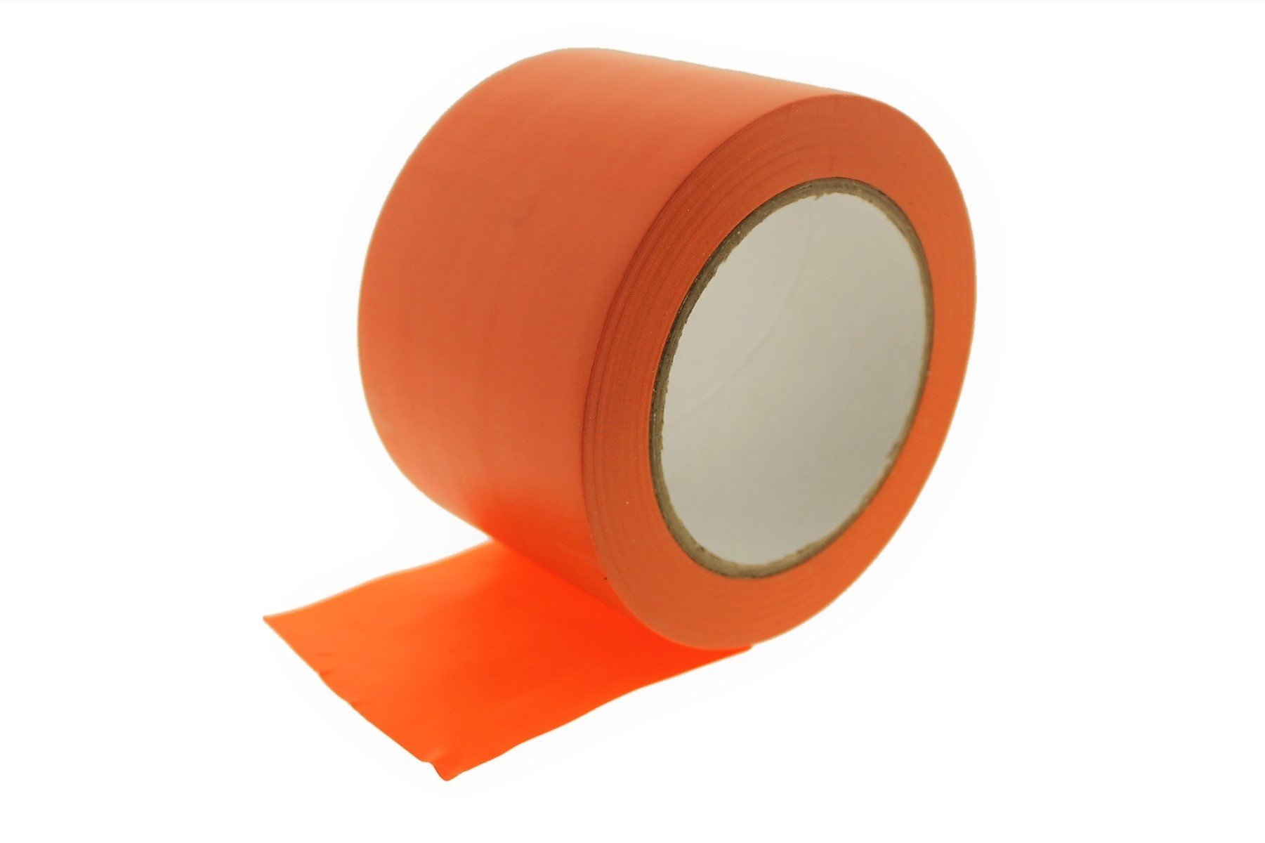 3'' Orange Vinyl Tape PVC Electrical Sealing Floor OSHA Safety Marking Natural Rubber Adhesive (2.83 in 72MM) 36 yard 7 mil