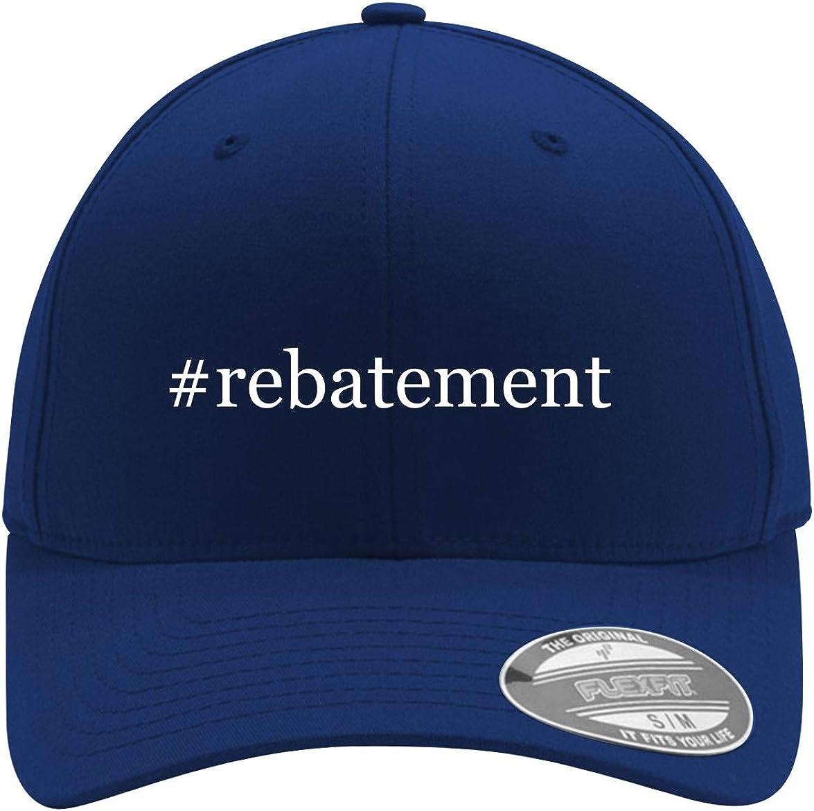 #rebatement - Adult Men's Hashtag Flexfit Baseball Hat Cap