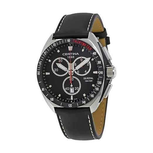 CERTINA DS ROYAL RELOJ DE HOMBRE CUARZO 41MM C010.417.16.051.01: Amazon.es: Relojes