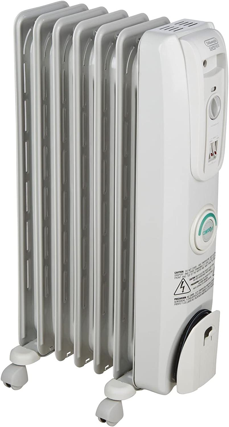 De'Longhi Comfort Temp EW7707CM Oil-Filled Space Heater