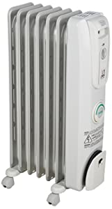 DeLonghi EW7707CM Safe Heat 1500W ComforTemp Portable Oil-Filled Radiator