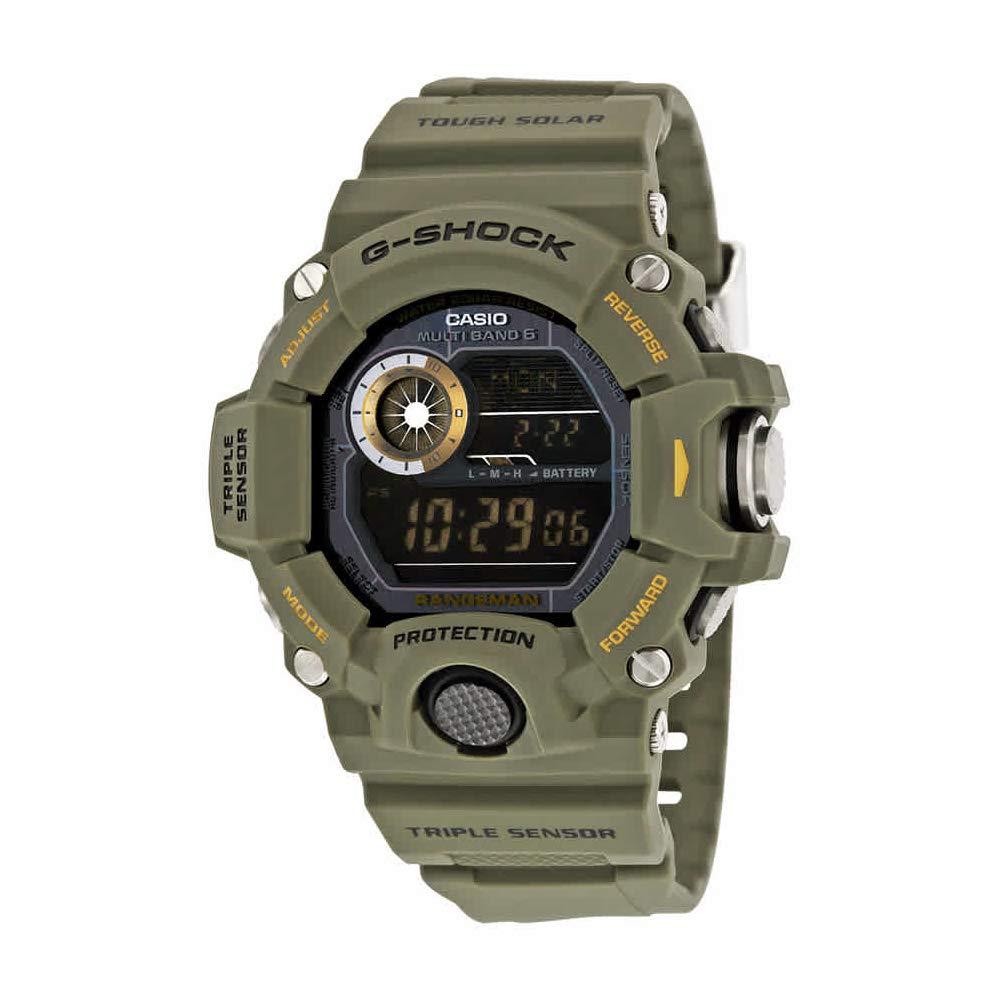 Casio G-Shock Rangeman Master Of G Series Stylish Watch - Green/One Size by Casio