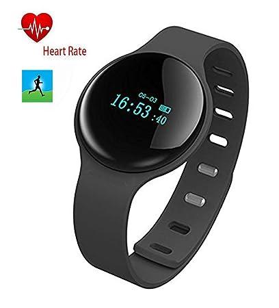 Dax-Hub H8 impermeable Bluetooth Smart Wear Pulsera con mensaje de monitor de frecuencia cardíaca; llamada de teléfono & cámara sincronización; mando ...