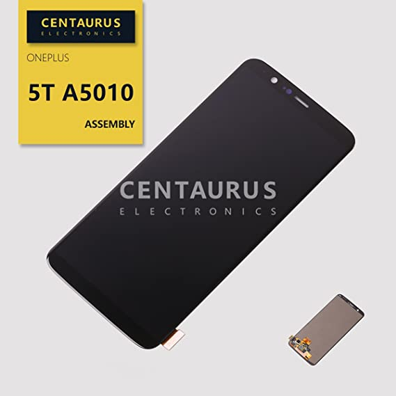 Assembly for OnePlus 5T A5010 / Five T / 1+ 5T 6 01 inch LCD Display Touch  Screen Digitizer Glass Full Complete Replacement Parts Black