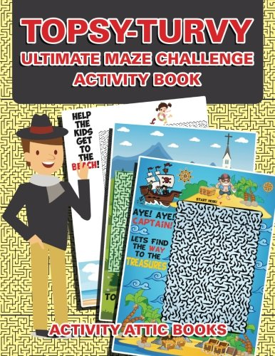 Topsy-turvy Ultimate Maze Challenge Activity Book PDF