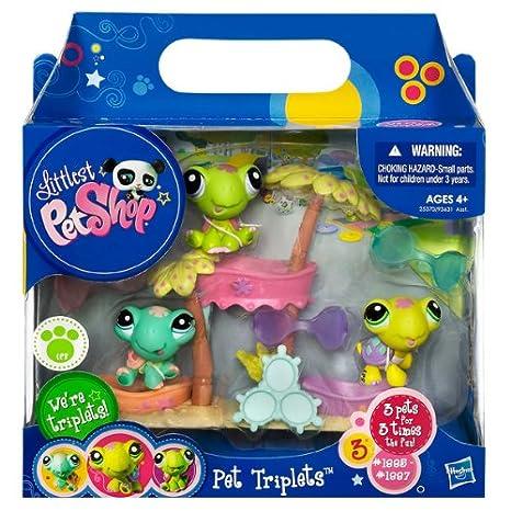 Amazon.es: Littlest Pet Shop Hasbro Trillizas Gatos - Mascota de juguete (3 unidades): Juguetes y juegos