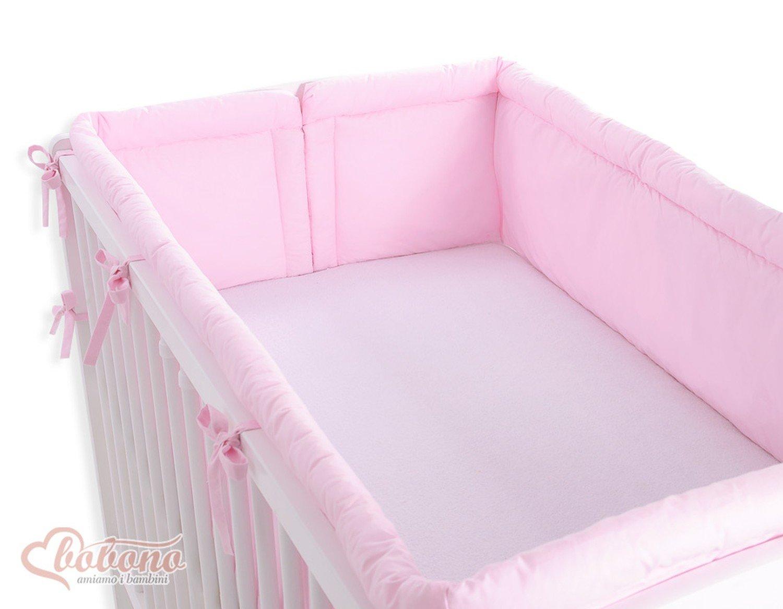 Tour de lit b/éb/é complet Princesse rose XXL