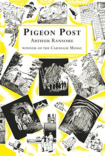 Book cover for Pigeon Post