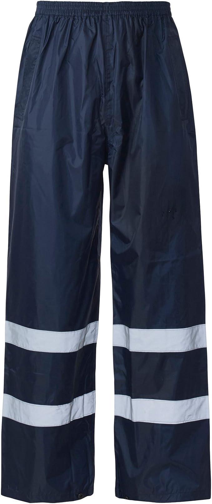 Blackrock Hi Vis Overtrousers Waterproof High Viz Trousers Work Wear Pants