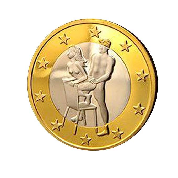 Pc Posición Hcfkj Sexo Juguetes Monedas Euro 6 Diferente 1 De Ygbv6yf7