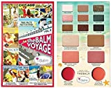Travel Palette The Balm Voyage Cosmetics Blusher Lip Cheek Face & Eye Shadows Genuine Product, Made in San Francisco, U.S.A. Fabrique aux Etats-Unis …