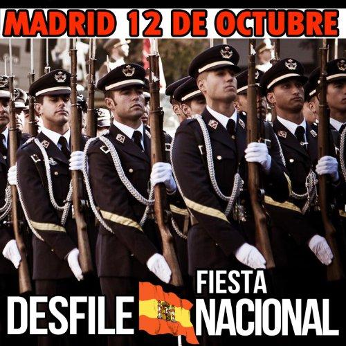 Amazon.com: Madrid 12 de Octubre. Desfile Fiesta Nacional: Gran Banda