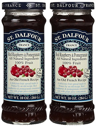 St. Dalfour Red Raspberry Pomegranate Conserves - 10 oz - 2 (St Dalfour Raspberry Fruit)