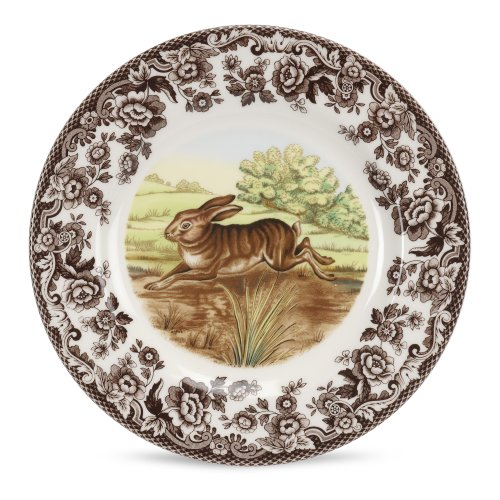 Spode - Woodland - Salad Plate - Rabbit