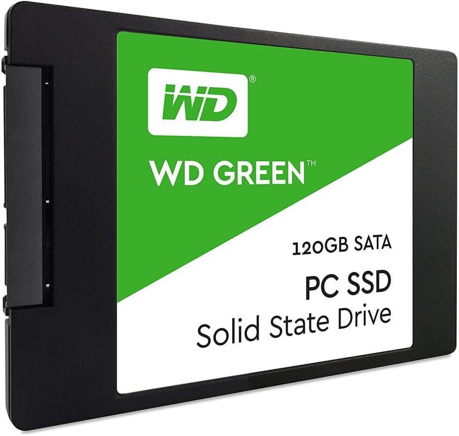 WD Green PC SSD - Disco Duro sólido de 120 GB (Serial ATA III, SLC ...