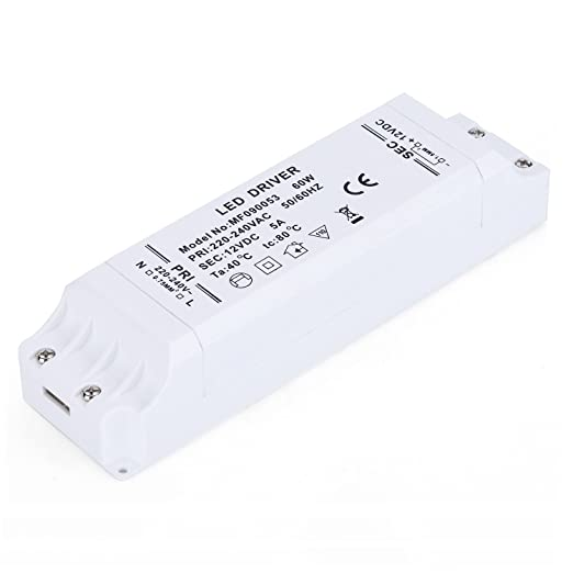 43 opinioni per Liqoo® trasformatore 60W LED alimentazione driver di potere per le lampadine 12V