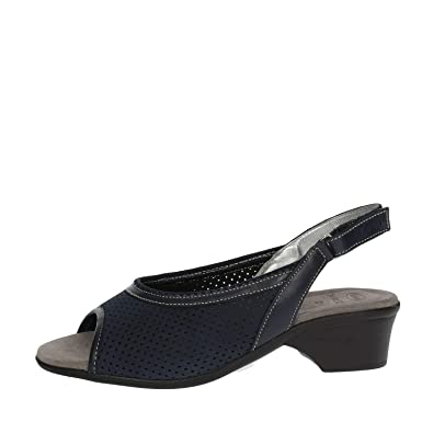 3abacf78d64f Scholl Size 37 Navy Blue Gelactiv Ennis Womens Sandals  Buy Online at Low  Prices in India - Amazon.in