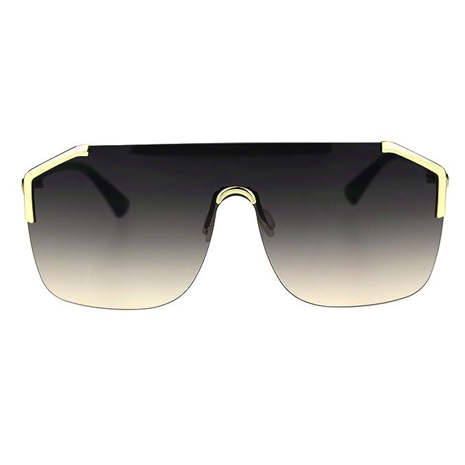 Amazon.com: SA106 - Gafas de sol retro con lente expuesta de ...